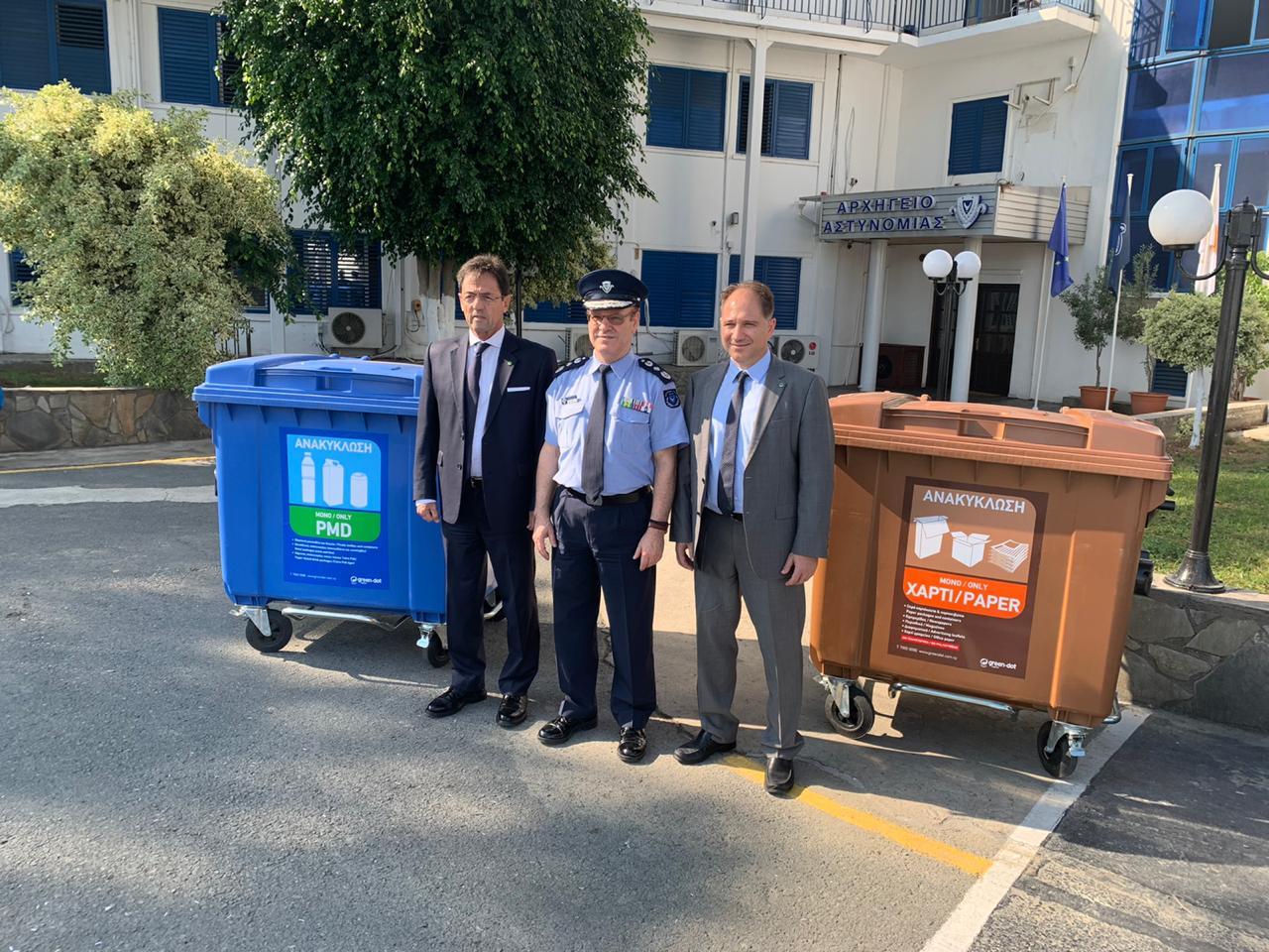 Συνεργασία Green Dot Κύπρου και Αστυνομίας Κύπρου