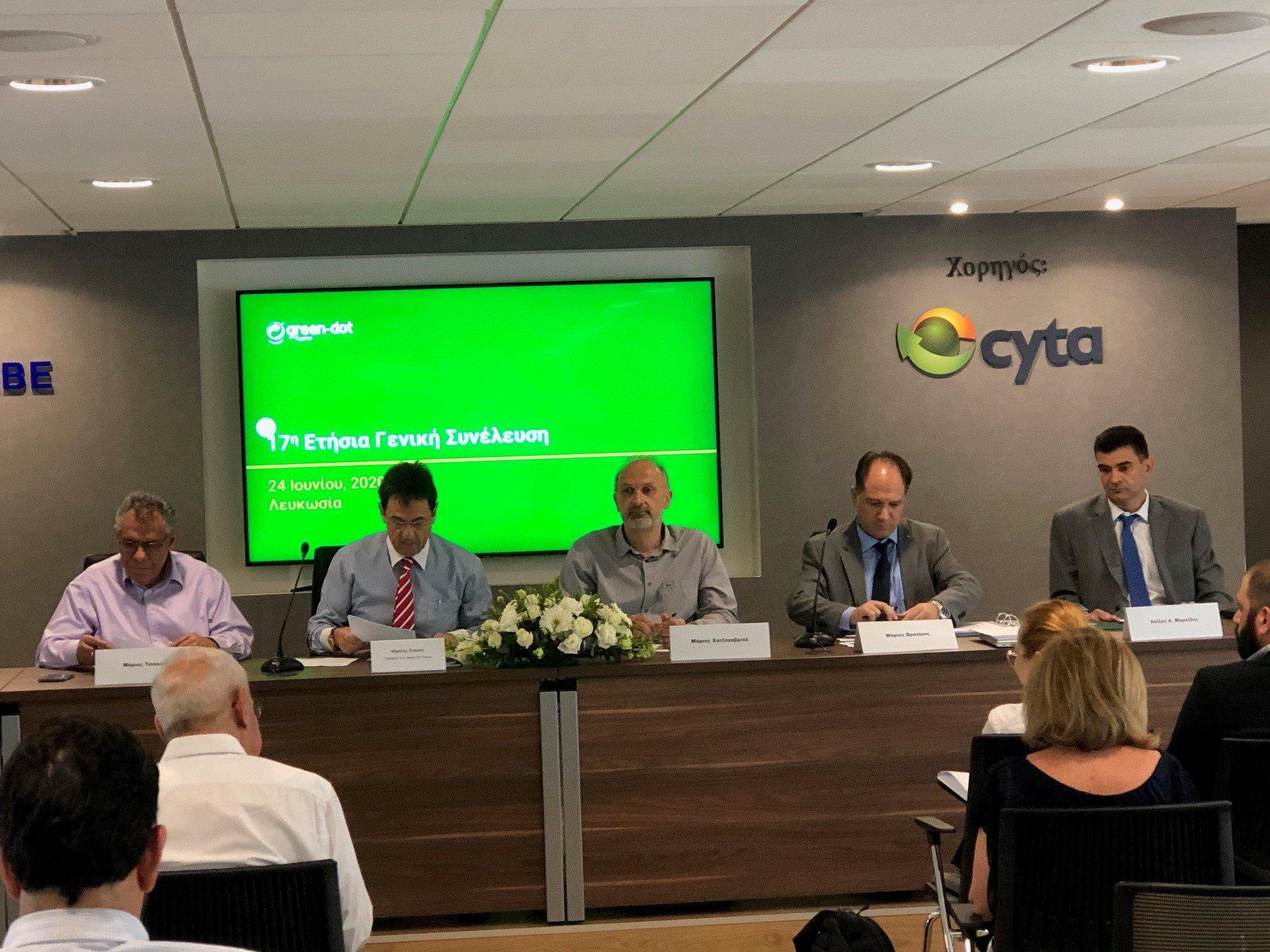 Ετήσια Γενική Συνέλευση Green Dot Cyprus