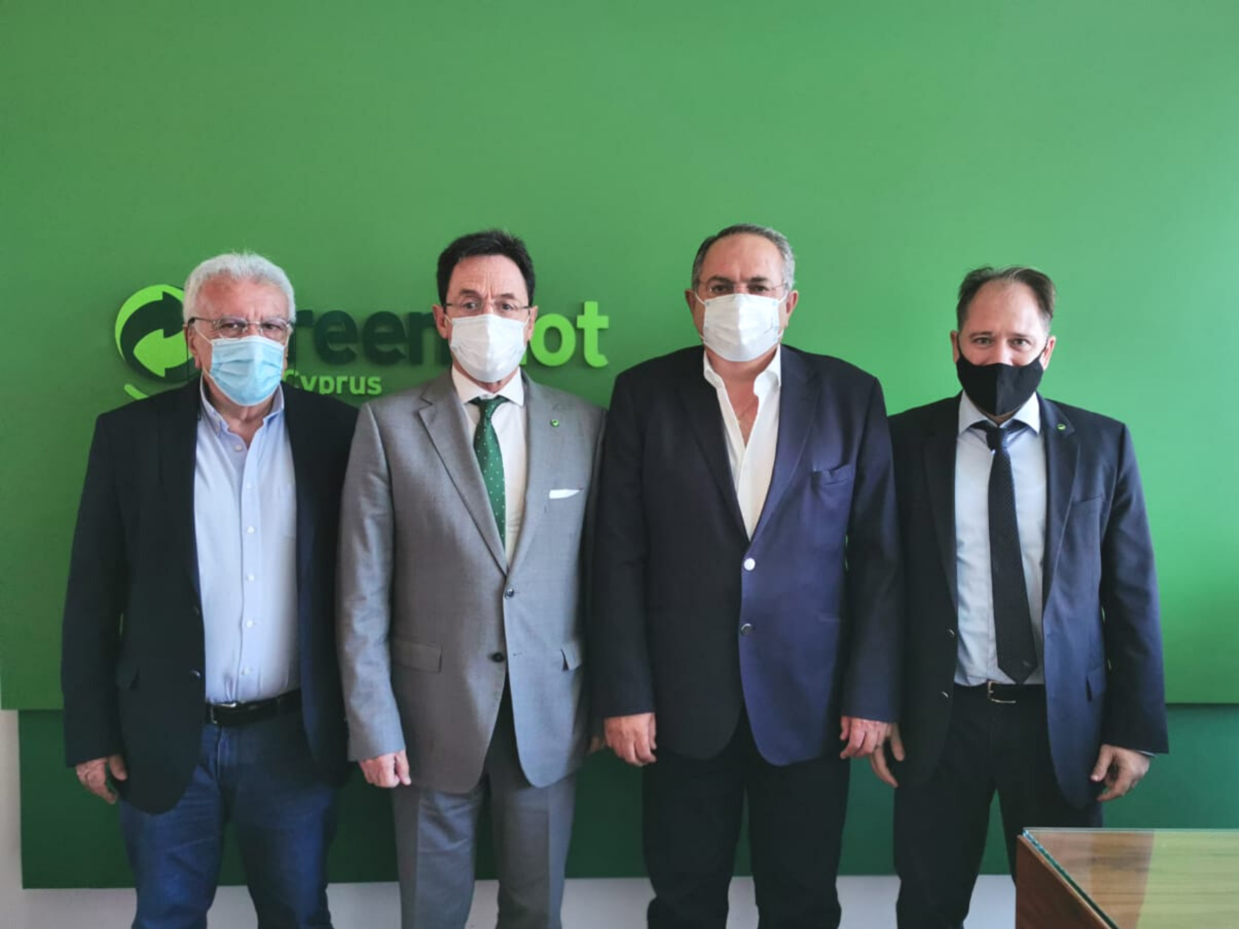 Συνεργασία Green Dot Κύπρου - ΔΙ.ΧΑ